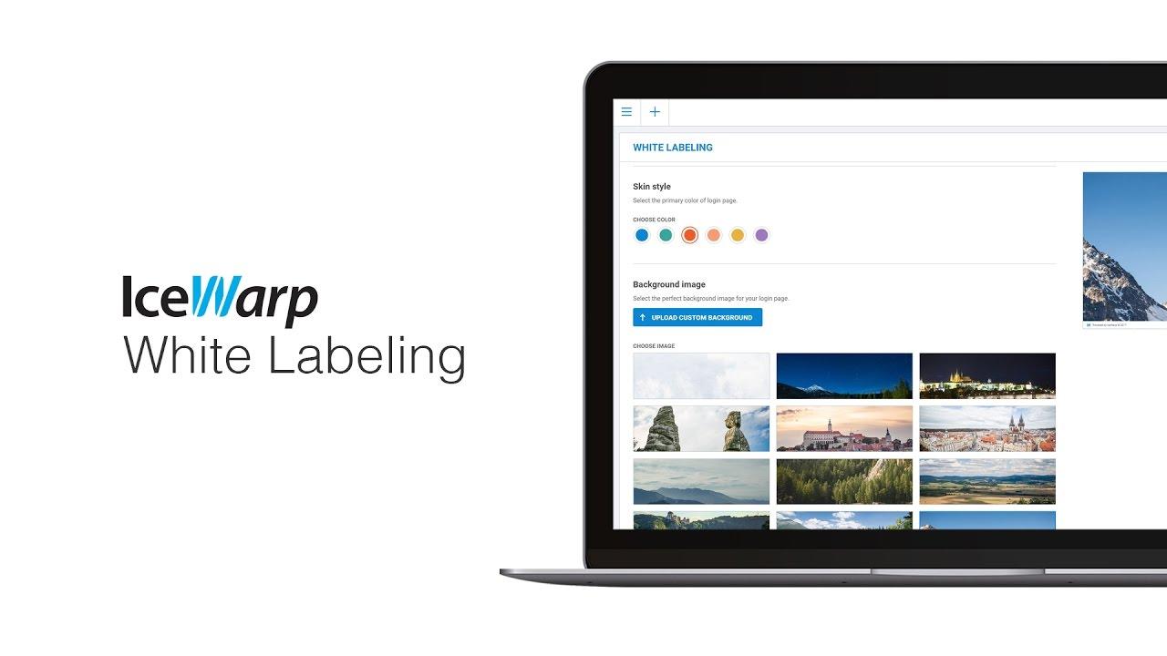 IceWarp White Labeling tutorial