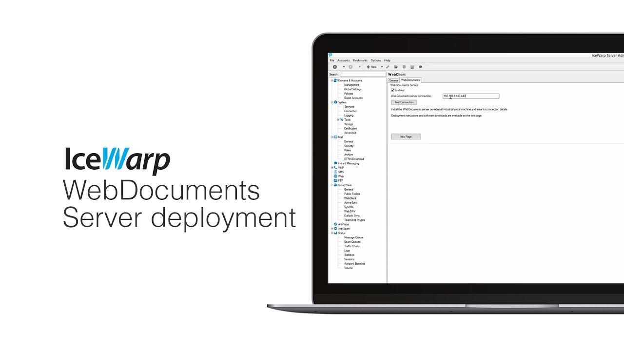 IceWarp WebDocuments deployment