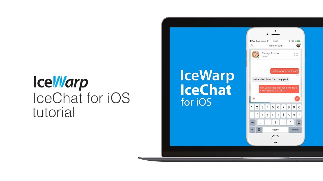 IceWarp IceChat for iOS Tutorial