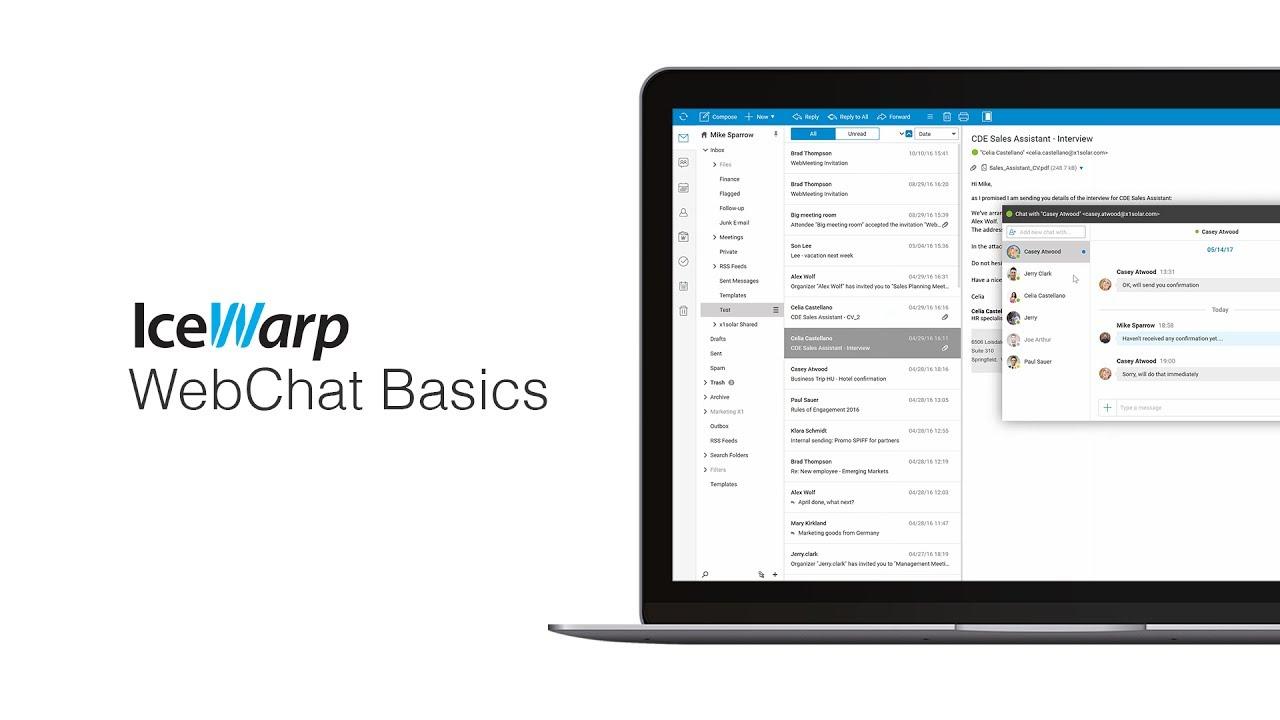 IceWarp WebChat Basics